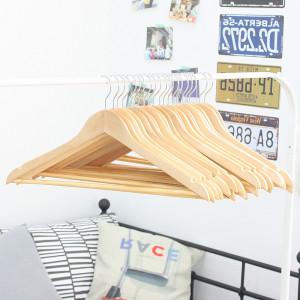 [가쯔] 원목옷걸이 30개 외 생활용품