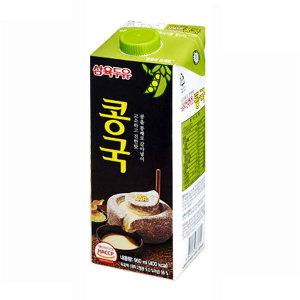 [삼육] 삼육두유 콩국 950ml x 6팩 /콩국수