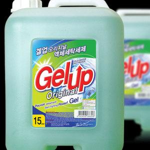 겔업 고농축 액체세제 15L 세탁세제