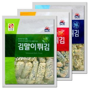 오양 김말이튀김1kg+1kg 꼬마/매콤/김말이