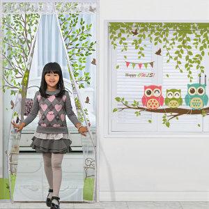 [다샵] 창문 현관 방풍비닐 커튼 문풍지뽁뽁이현관문바람막이