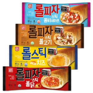 [한성기업] 한성 롤피자스틱 4종 80gx20개 콤비/불고기/치즈/불닭