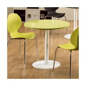 레인볼 칼라 원탁 테이블