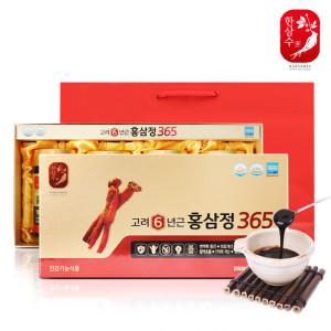6년근홍삼 고려홍삼정골드4병+전용쇼핑백/인삼국내산