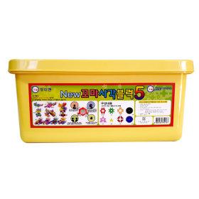 toyman儿童积木益智玩具206粒