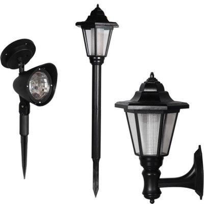 태양열 LED 정원등/야외조명등 자동충전 벽등가로등 - G마켓 모바일